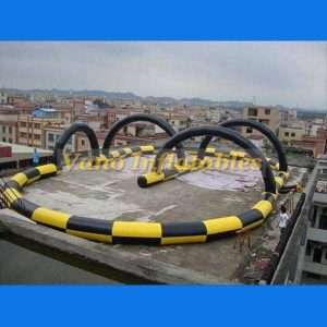 Zorb Race Track | Zorbing Ball Racing | Inflatable Track