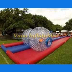 Zorb Race Track by China Manufacturer - ZorbingBallz.com