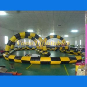 Inflatable Zorb Track at Low Price - ZorbingBallz.com