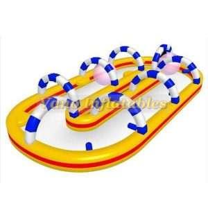 Inflatable Zorb Ball Track Outdoor Event - ZorbingBallz.com