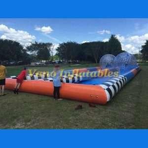 Zorb Ball Track for Zorbing Competition - ZorbingBallz.com