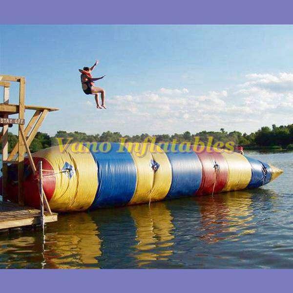 Getting Trampoline Springs Off: Water Blob Trampoline 18% Off