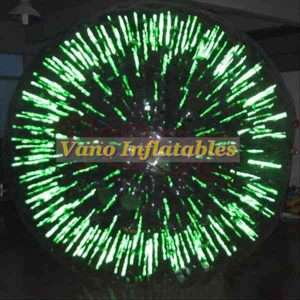 Glowing Zorb Ball Outdoor Games - ZorbingBallz.com
